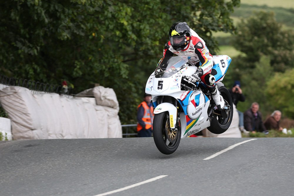 Bruce Anstey and the Yamaha YZR500