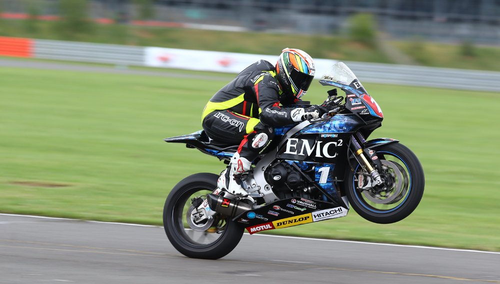 Riding John McGuinness's Superstock 'Blade