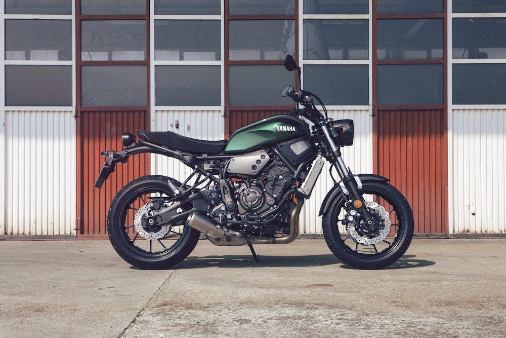 Yamaha XSR700 Unveiled