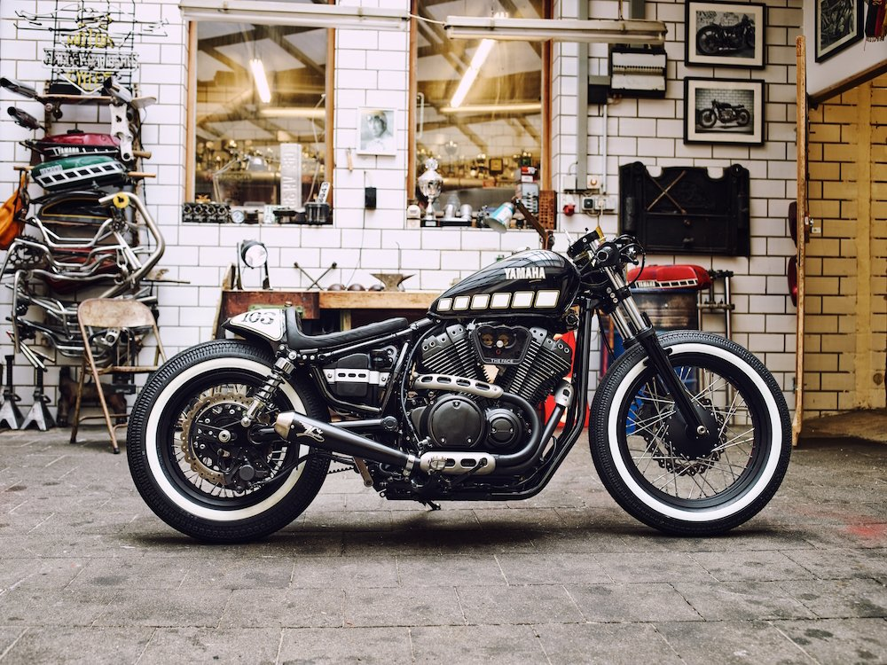 Kingston Customs' Yamaha XV950