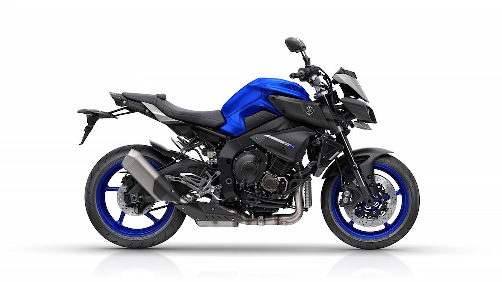 Yamaha MT-10: R1-powered wheelies