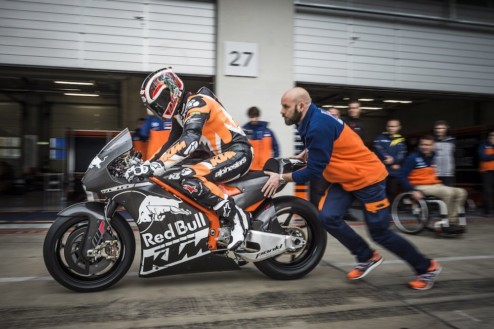 KTM RC16 MotoGP Project is go