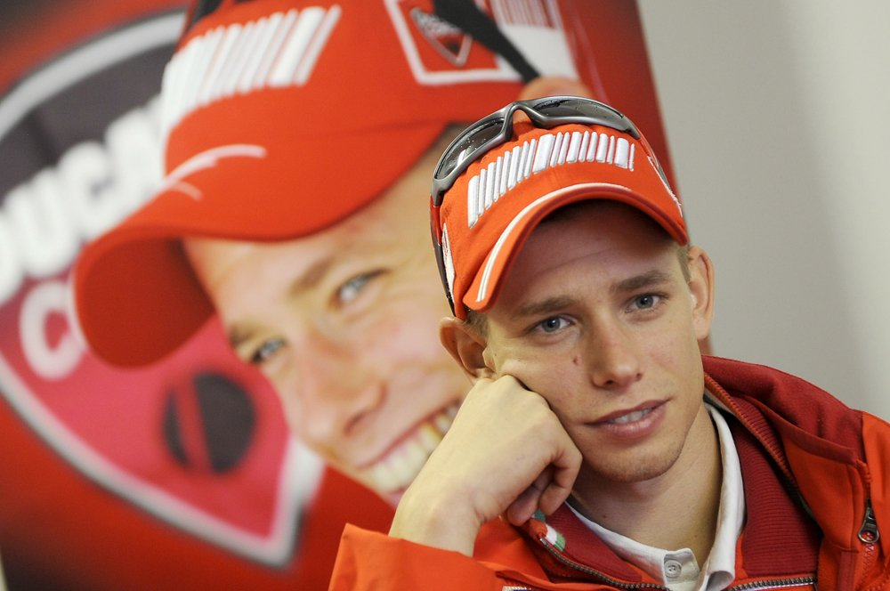 Casey Stoner Returns To Ducati