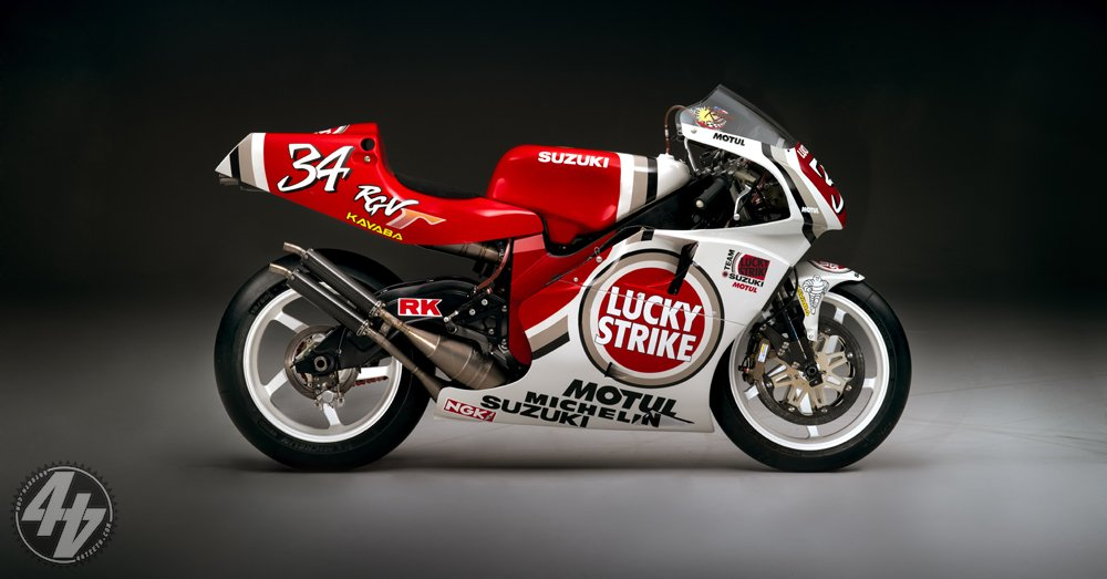 Dream Garage: Kevin Schwantz's 1995 Suzuki RGV500