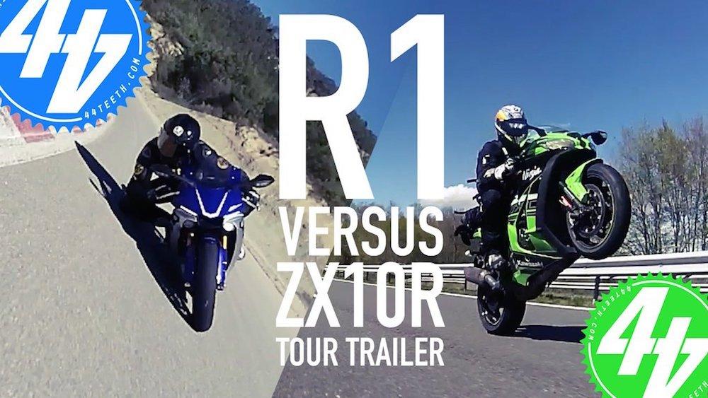 Video: ZX-10R v R1 – 44Tour Trailer