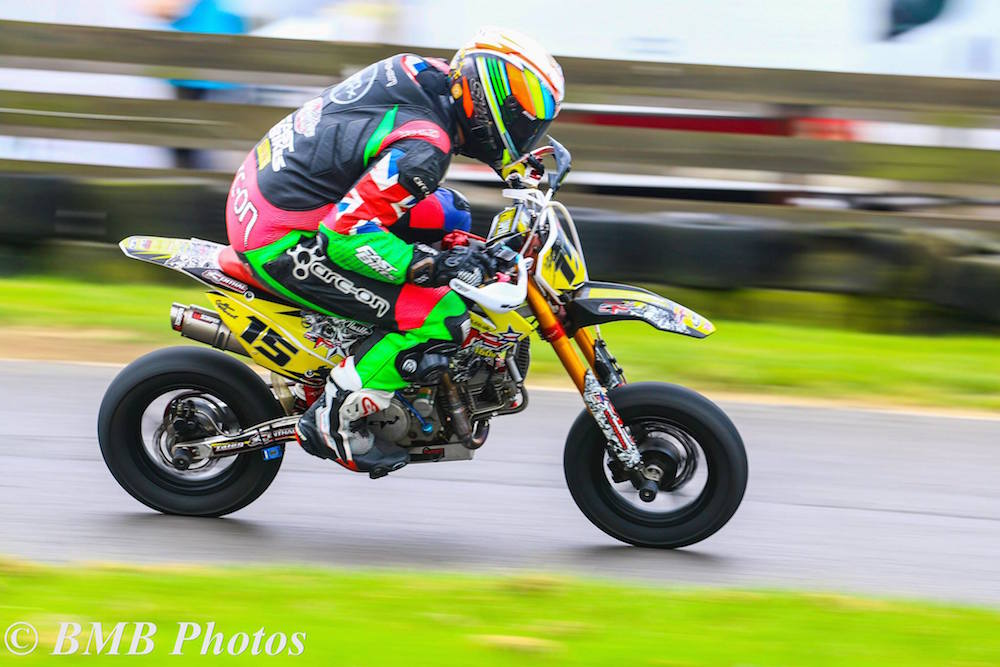 Small capacity motorbike racing