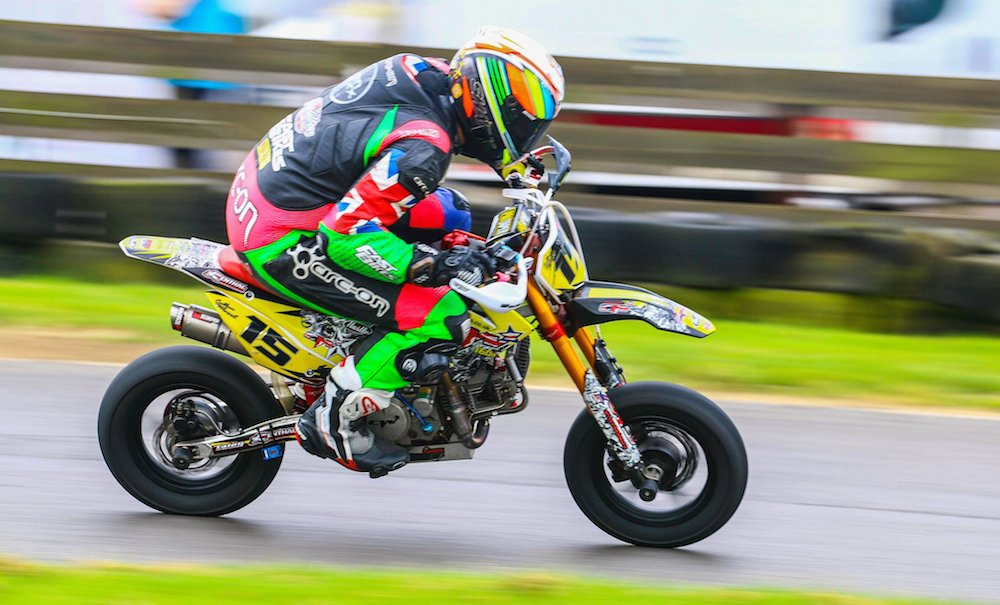 Frugal Fun & Frolics: Racing a Pit Bike