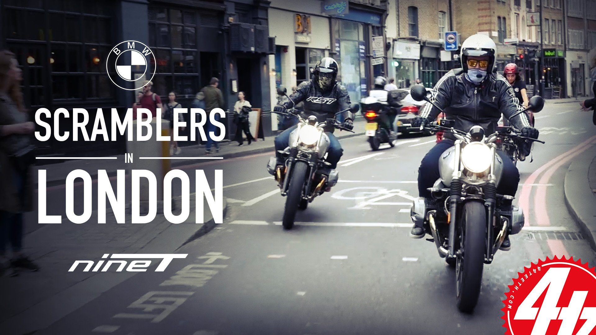 Video: BMW R nineT Scramblers in London