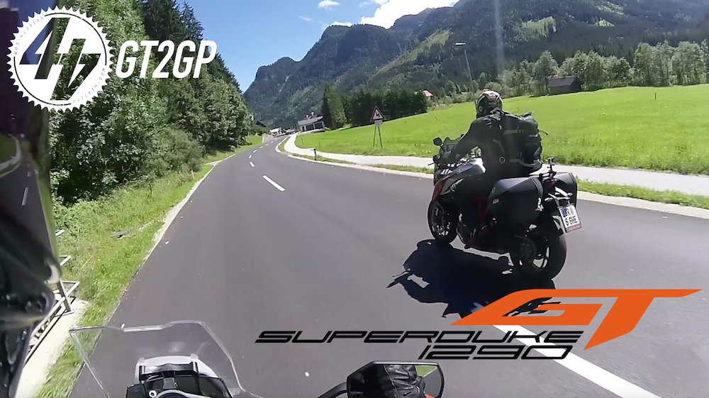 Flashback: Super Duke GTs to Austrian MotoGP