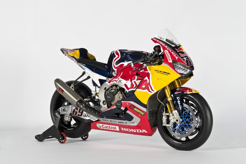 2017 Red Bull Honda World Superbike Team Unveiled