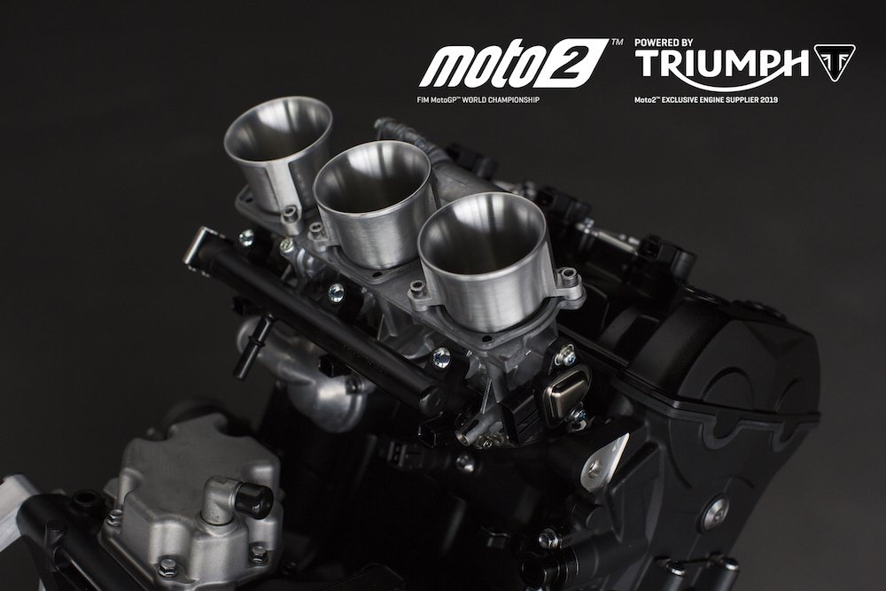 Triumph confirmed as Moto2 engine supplier