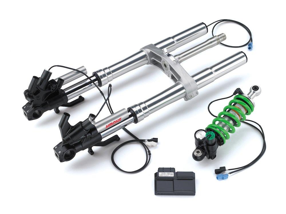 Electronic suspension Showa