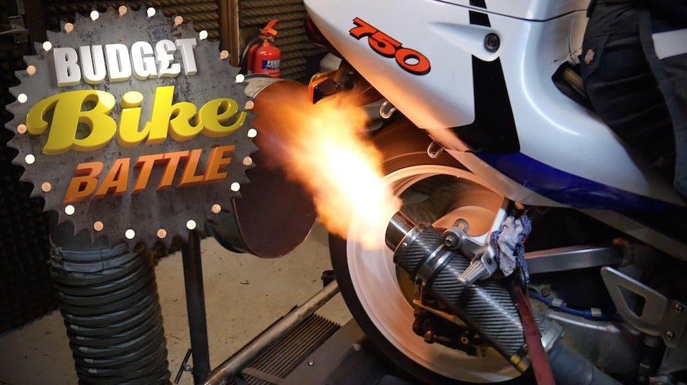 Budget Bike Battle | Dyno Challenge | ZX-7R v SRAD