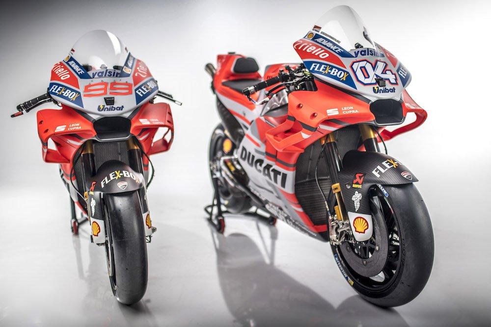 2018 Ducati MotoGP Gallery