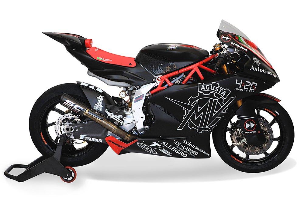 MV Agusta Unveils Moto2 Weapon
