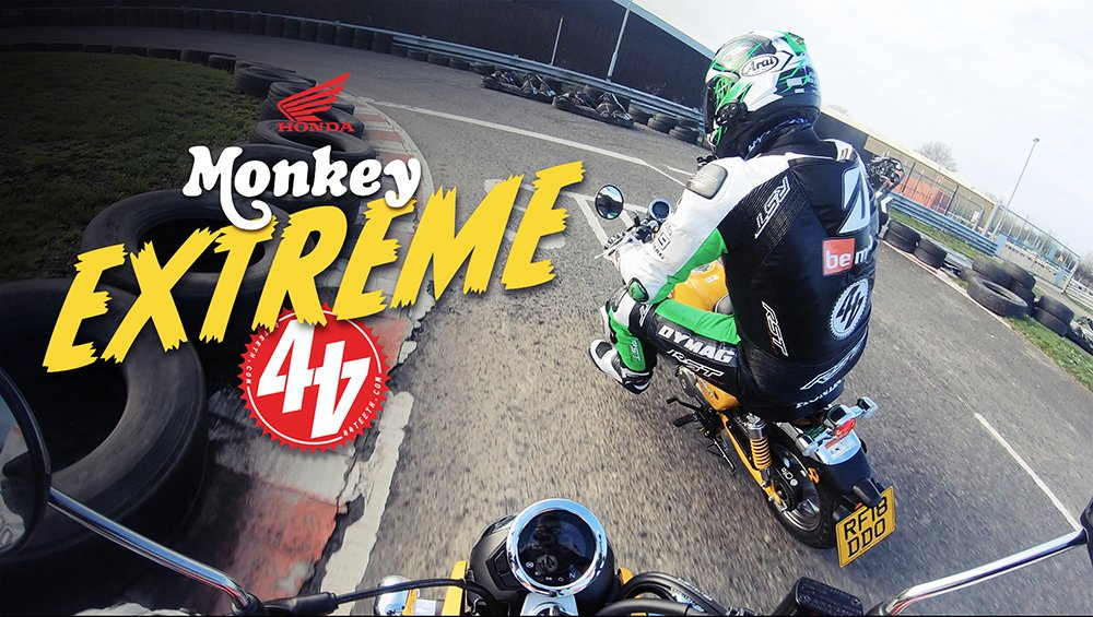 Video: Honda Monkey EXTREME