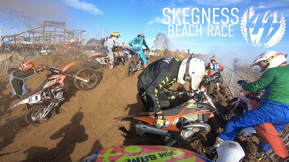 Two-Stroke Chaos | Skegness Beach Race