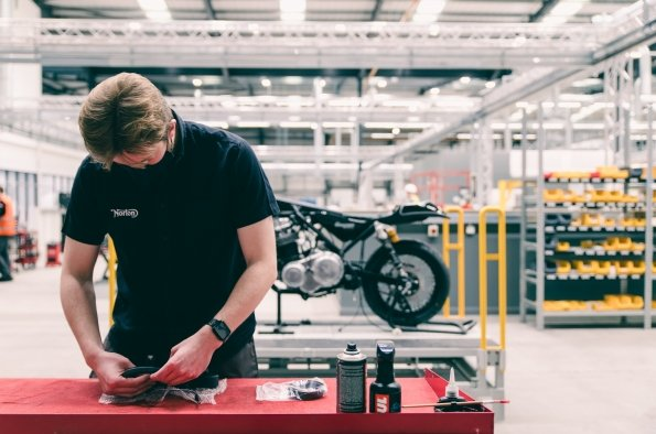 Inside the New Norton Factory