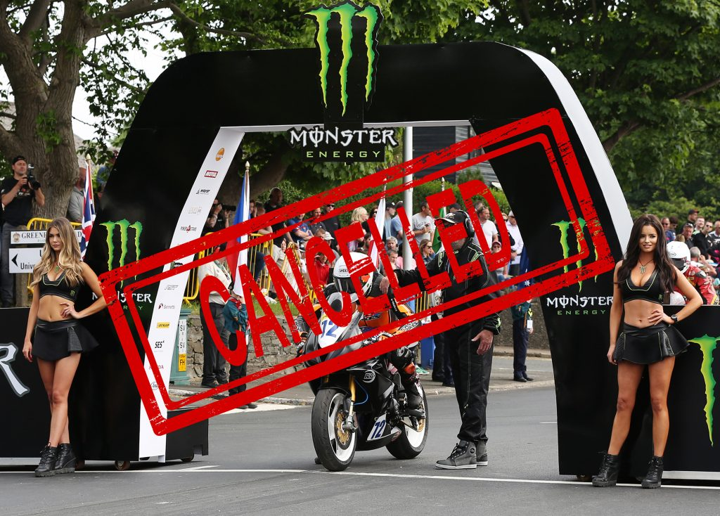 Isle of Man TT Cancelled