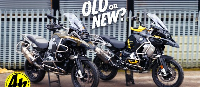 Video: Old or New? 40 years of the BMW GS