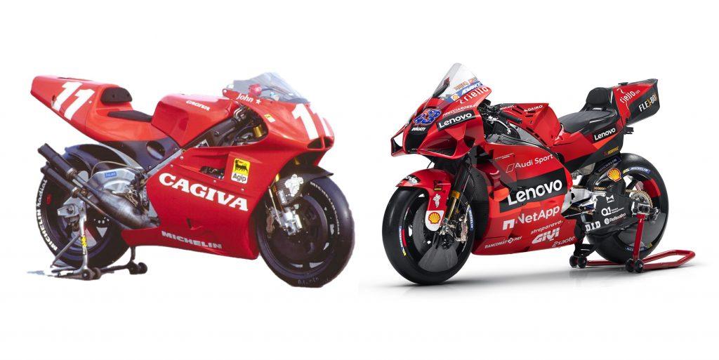 GP bikes of yesterday vs today