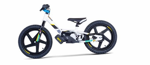 Husqvarna launches electric balance bikes
