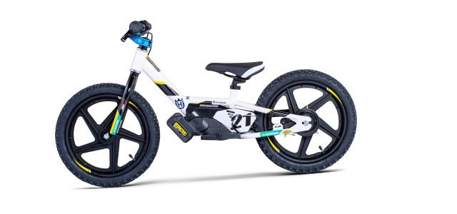 Husqvarna launches electric balance bikes