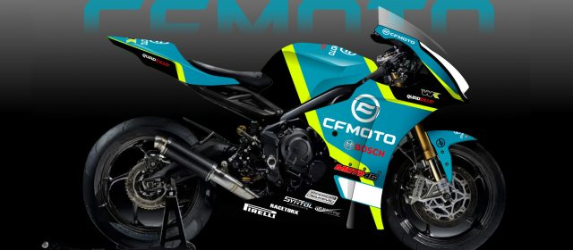 Baron von Grumble finally goes racing with CFMOTO