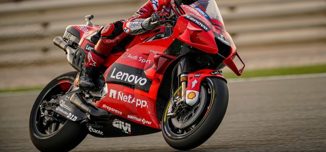 Official MotoGP Test Results – Wednesday