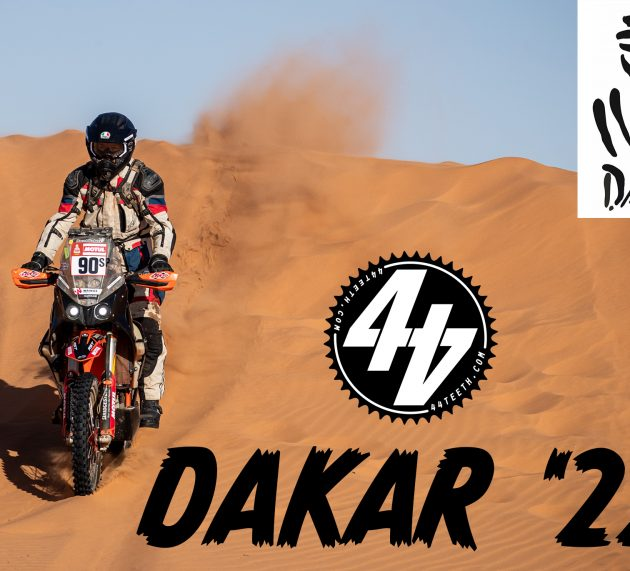 Dakar Prep; Paperwork and sweat
