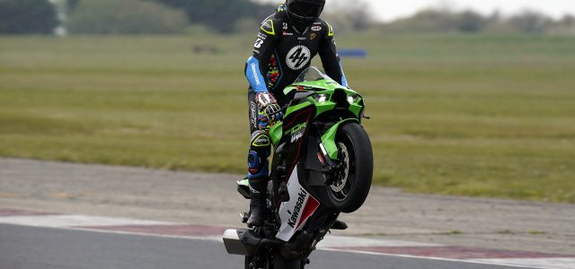 How to pull a wheelie