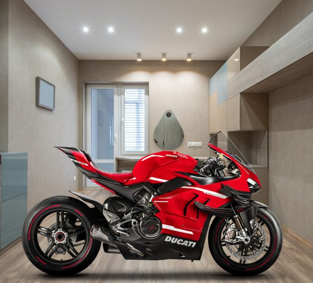 Reasons to keep your bike in the living room
