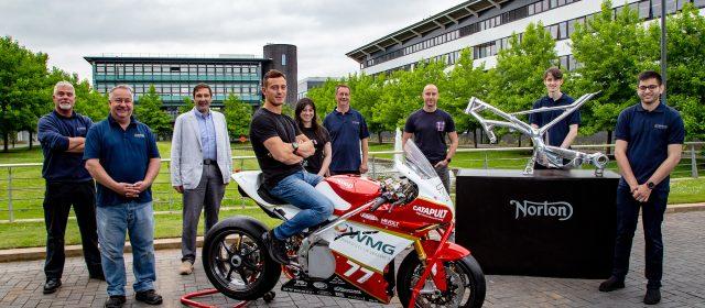 Warwick Uni and Norton Motorcycles go green