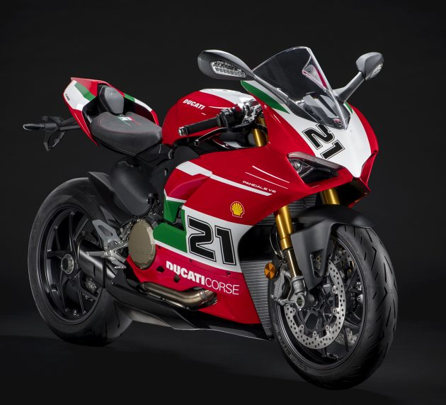 Troy Bayliss Anniversary Ducati Panigale V2