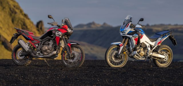 Honda Africa Twins updated for 2022