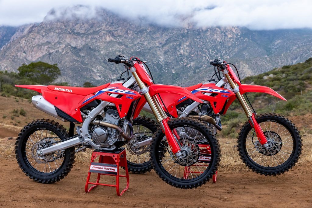 The CRF250R and CRF250RX