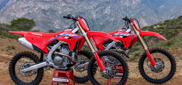 CRF250R and CRF250RX headline Honda's new CRF line-up