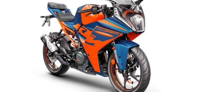 2022 KTM RC 390 and RC 125