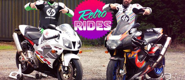 Video: Retro Rides   Honda SP-2 v Aprilia RSV Mille R