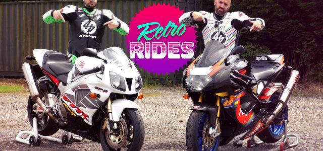 Video: Retro Rides | Honda SP-2 v Aprilia RSV Mille R