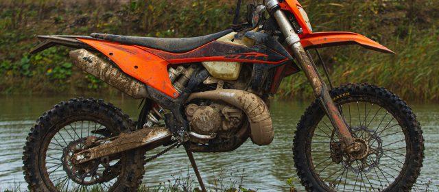 A dirty motorbike is a dangerous motorbike