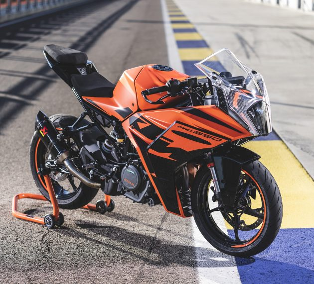 2022 KTM RC 390   Road + Track Review